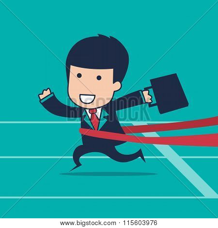 Businessman Runner