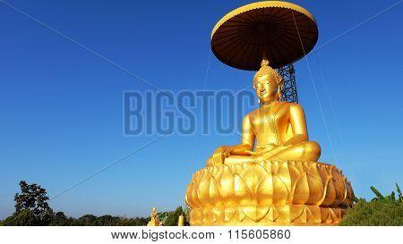 Golden Buddha Statue Thailand