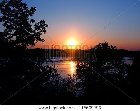 Kettle Moraine Wisconsin Sunset
