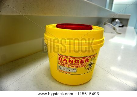 Hazardous Container