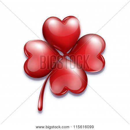 romantic symbol for Valentine's Day