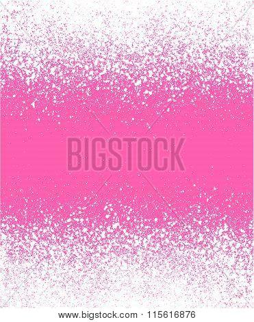 Graffiti Effect Winter Gradient Background In Pink White