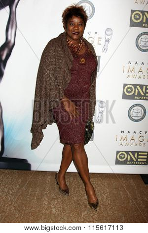 LOS ANGELES - JAN 23:  Loretta Devine at the 47th NAACP Image Awards Nominees Luncheon at the Beverly Hilton Hotel on January 23, 2016 in Beverly Hills, CA