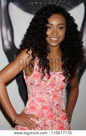 LOS ANGELES - JAN 23:  Genneya Walton at the 47th NAACP Image Awards Nominees Luncheon at the Beverly Hilton Hotel on January 23, 2016 in Beverly Hills, CA