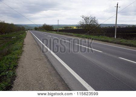 Main road.