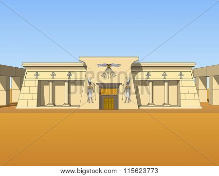 Building In Egyptian Style