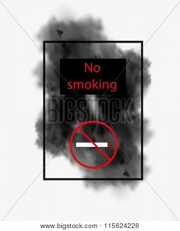 No smoking easy all editable