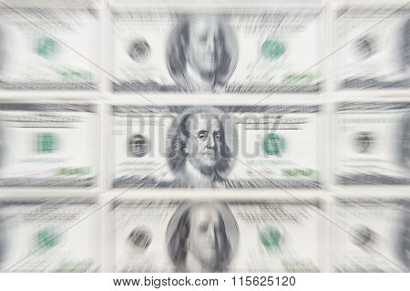 Dollar cash business printing money Zoom burst