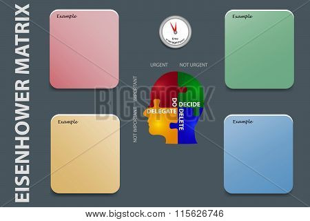Time Management Exercises Vector