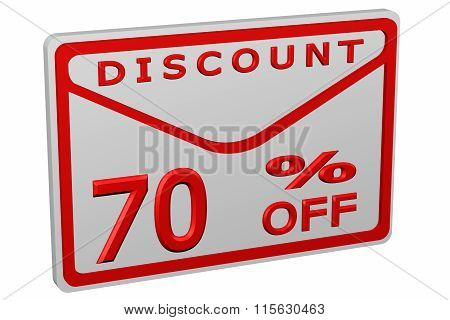 Envelope With Sign Discount 70 % Off