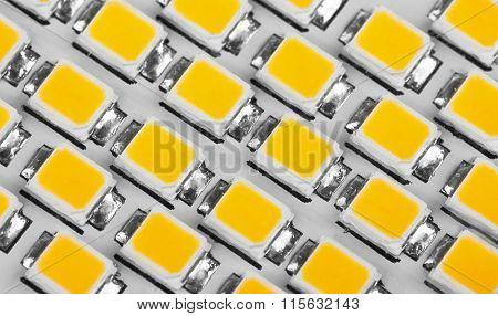 lighting LED panel, close-up