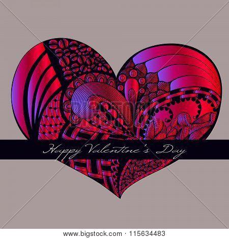 Crimson Valentine Heart.