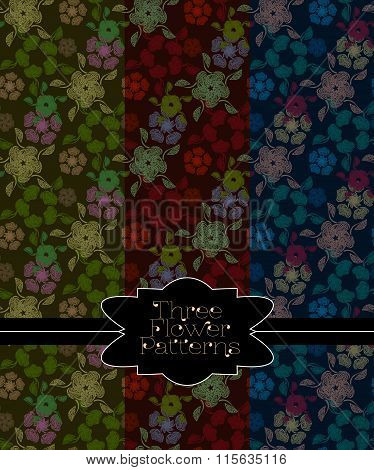 Pattern Collection For Making Seamless Backgrounds