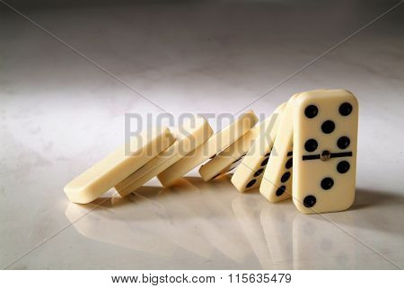 Group Dominoes Fall