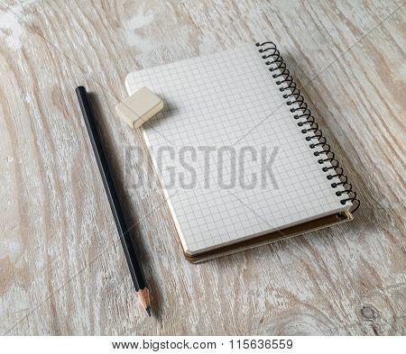 Photo Of Blank Sketchbook