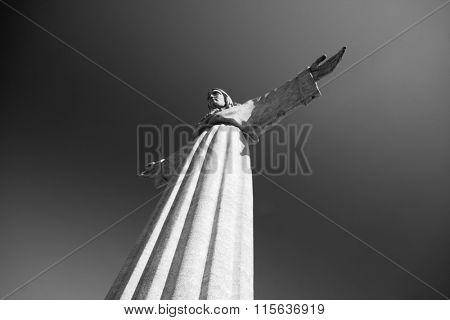 Jesus Christ monument, Lisbon, Portugal