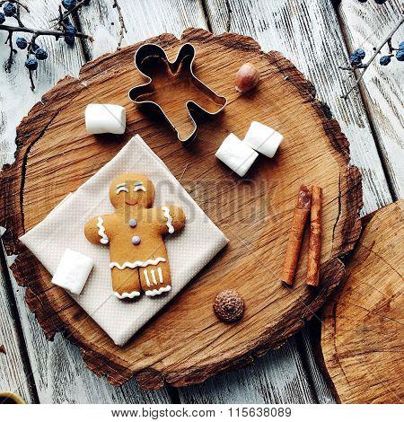 Gingerbread Man And Vanilla