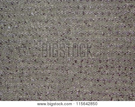 grey fabric with sequins
