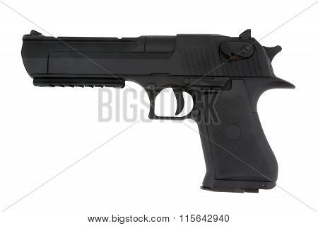 Airsoft Pistol Isolated