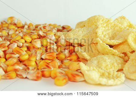 Corn And Corn Flakes