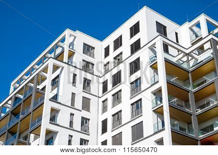 Modern block of flats in Berlin