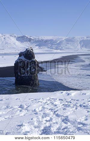 Winter Landscape Vik, Iceland