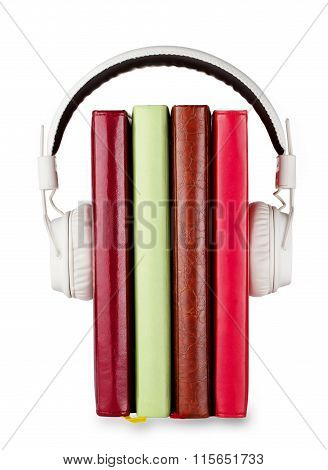 Concept of audio books on the subject