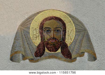 Mosaic Image Of Mandylion