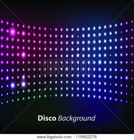 vector disco background