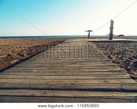 Paseo a la playa