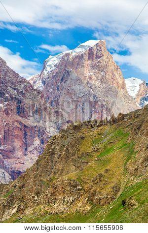 Mountain vertical scene