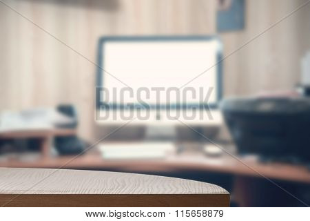 Office Desk Background