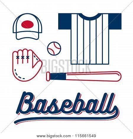 Baseball Equipment Set