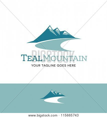 mountains logo for business, organization or website