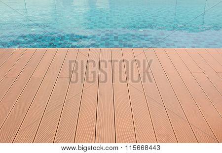 Floor Beside The Pool.