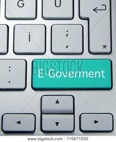 e - goverment button