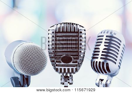 Speech Microphones.