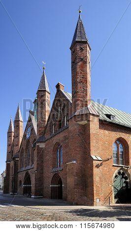 Hospital Of The Holy Spirit, Lubeck, Germany