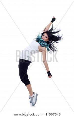 Headbanging Modern Style Dancer