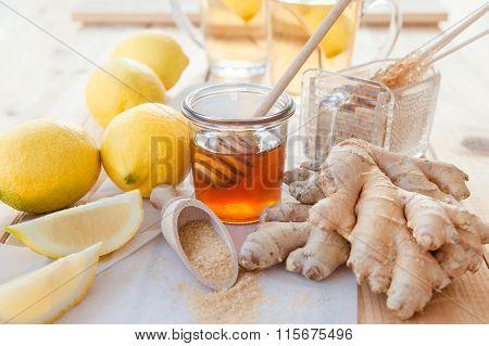 Ginger, Lemons And Honey