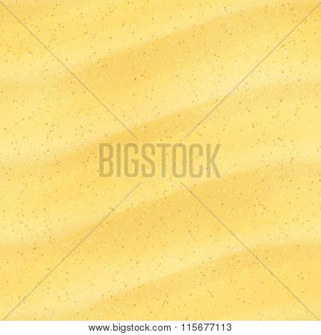 Seamless Sand Dunes. Vector illustration, eps10.