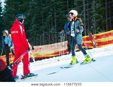 Ski Lesson For Adult