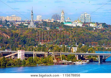 Kyiv Cityscape, Ukraine
