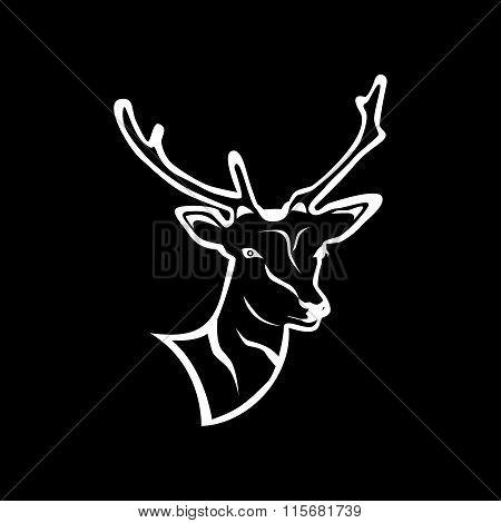 The Deer Silhouette