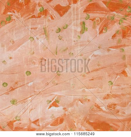 orange hand painted background