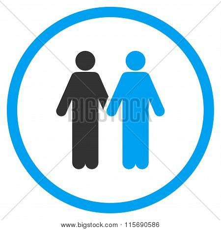Gay Pair Flat Icon