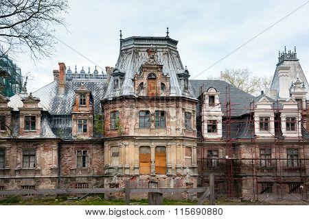 Ruins of renaissance Sobanski Palace