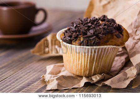 Appetizing Dessert Cupcake
