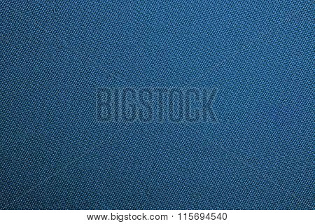Blue Biliard Cloth Color Texture Close Up