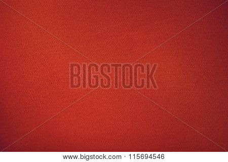 Red Biliard Cloth Color Texture Close Up